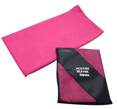 Exerz Micro XL (150 x 85 cm) in Microfibra Asciugamano da viaggio/ Teli mare / Asciugamano...