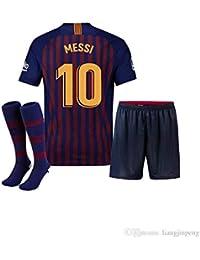 Conjunto - Kit 1ª Equipación Replica Oficial FC BARCELONA 2017-2018 Dorsal  MESSI - Tallaje 9f6ff885ff7e3