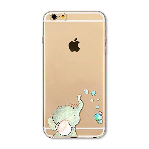 "iPhone 5S TPU Hülle,iPhone 5s Handytasche HandyHülle, BoomTeck Silikon Hülle Transparent Schutzhülle für 4.0"" Apple iPhone 5S/iPhone SE/iPhone 5 Slim Weiche Unsichtbare Gel-Skizze Stoßfest Gummi Schüt 08"