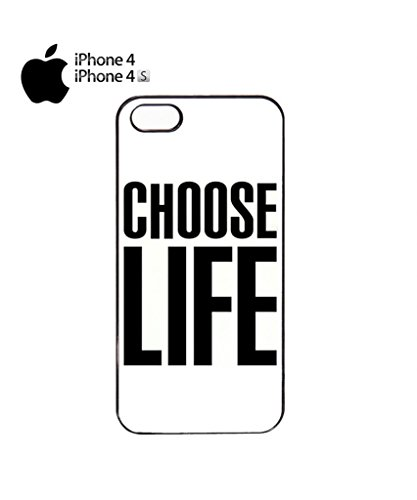 Choose Life Geek Mobile Cell Phone Case Cover iPhone 5c Black Noir