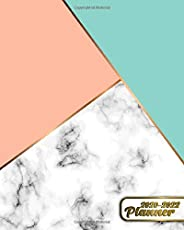 2020-2022 Planner: Stylish Geometric Marble Three Year Daily Agenda & Organizer with Weekly Spread Views - 3 Year (36 Months)