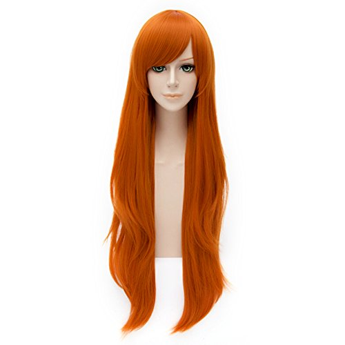 Preisvergleich Produktbild 80cm Women's Long Curly Fashion Party Cosplay Wig + Wig Cap