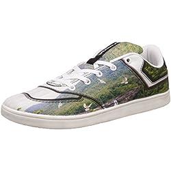 Nivia Men's Green and Black Sneakers - 10 UK/India (43 EU)(4976)
