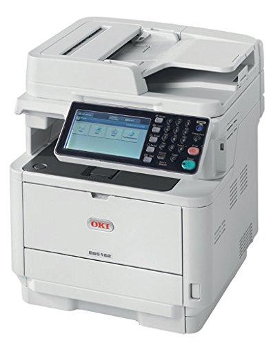 OKI ES5162 Laser 45 ppm 1200 x 1200 dpi A4 WiFi - Impresora multifunción (Laser, Impresión en Blanco y Negro, 1200 x 1200 dpi, 680 Hojas, A4, Blanco)