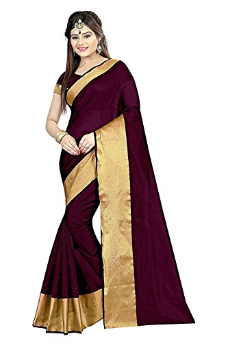 Georgette Fabric Saree With Blouse Piece (Free Size) (1485)