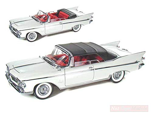 Lucky Die Cast LDC20138W Chrysler Imperial Crown 1961 White 1:18 DIE CAST Model kompatibel mit -
