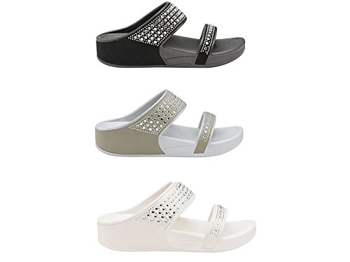 Foster Footwear - Ciabatte donna White