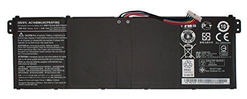 """Akku für Acer Aspire E5-771G Serie (15,2V / 48Wh original) // Herstellernummer """"AC14B8K""""! Bitte vergleichen Sie Ihren Akku"""