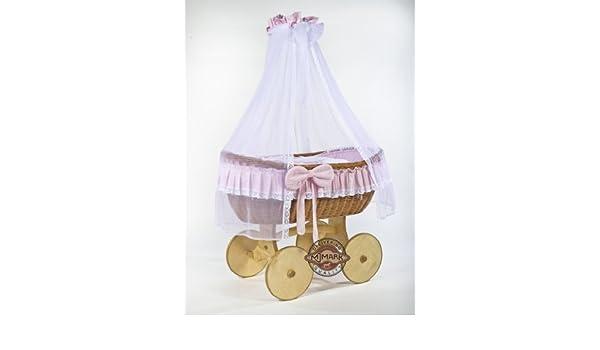 Bollerwagen stubenwagen babykorb ophelia antique pink von mjmark