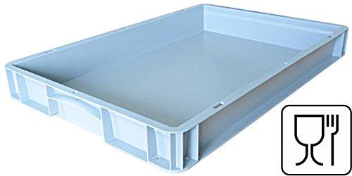 Pizzaballenbox, Pizzaballenbehälter, Pizzateigbehälter 600 X 400 X 70mm