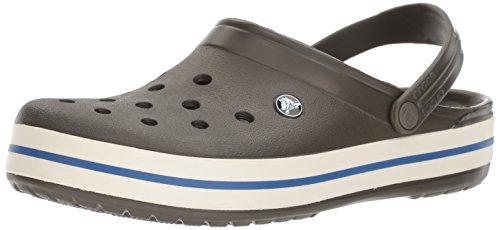 Crocs Damen Crocband U Pantoletten Clog, Grün (Dunkle Camo grün), Gr.-37 EU -