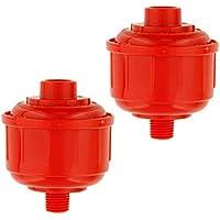 Filtro de Herramienta de Trampa de Agua desechable de Pintura de Aerosol HVLP de vehículo de ABS ABS (2 Piezas)