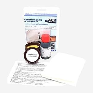 123Repair kit trattamento pelle prodotto per pulizia pelle + balsamo per pelle + panno