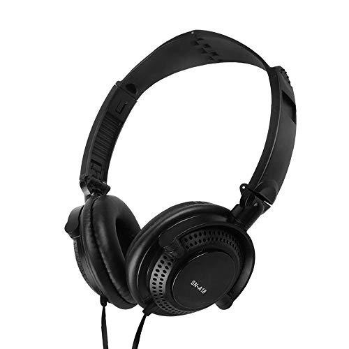 Docooler Casque de Jeu Filaire 3,5 mm Casque de Sport sur l'oreille Écouteurs de Musique avec Microphone Contrôle en Ligne pour Smartphones Tablet Laptop PC de Bureau