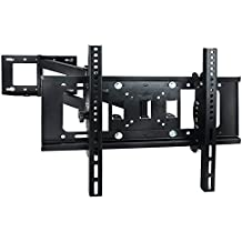 Sunydeal TV Soporte de Pared con Inclinación y Giratoria para 30 32 37 39 40 42 43 47 49 50 55 60 pulgada LCD LED Plasma Flat Screen Smart TV Max. VESA 500x400 Capacidad de Carga hasta 40KG