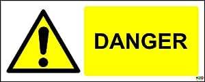 Panneau - Danger - 300X120 Mm Rigide