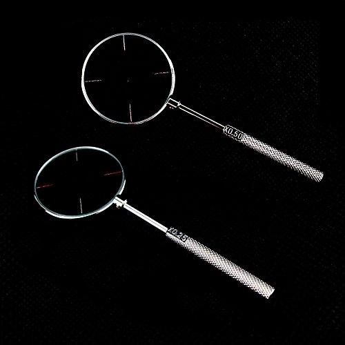 Airgoesin,Kreuzzylinder, Optometrie-Werkzeug (0,25 und 0,5), 2 Stück