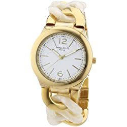 Mike Ellis Women's Quartz Watch L3079AGM/2 with Metal Strap