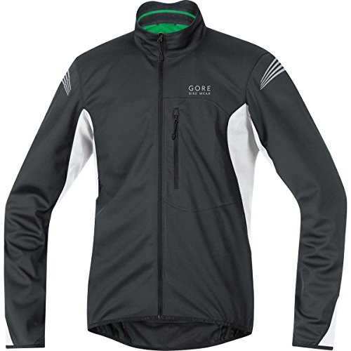 GORE BIKE WEAR ELEMENT WINDSTOPPER SOFT SHELL   CHAQUETA PARA HOMBRE  COLOR NEGRO / BLANCO  TALLA XXL
