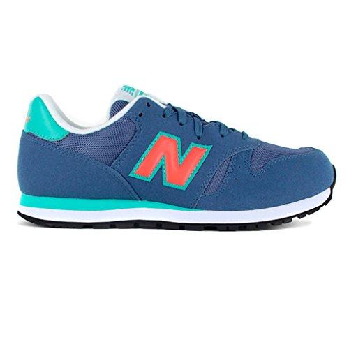 New Balance Kids Blu/Green/White blu