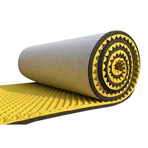 z-xiyin pannelli acustici prevenzione incendi, protezione dell'ambiente di salute fonoassorbenti cotton hotel ufficio isolamento acustico mat (color : yellow)