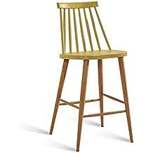 YYHSND Chaise Haute Simple Moderne De Barre Industrielle
