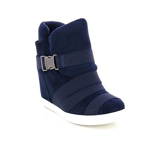 Go Tendance, Damen Sneaker Blau
