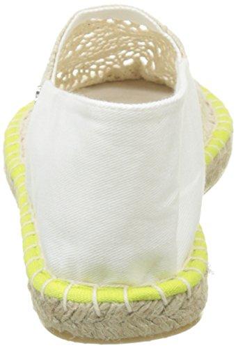 Banana Moon Rochi, Espadrilles Femme Blanc (Blanc)