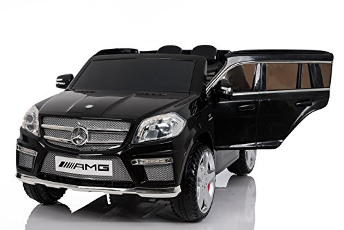 RC Auto kaufen Kinderauto Bild 2: Mercedes Benz GL63 AMG Jeep SUV Lizenz Kinderfahrzeug mit 2x 35W Motor Kinderauto Elektroauto Fernbedienung MP3 Anschluss in Schwarz*