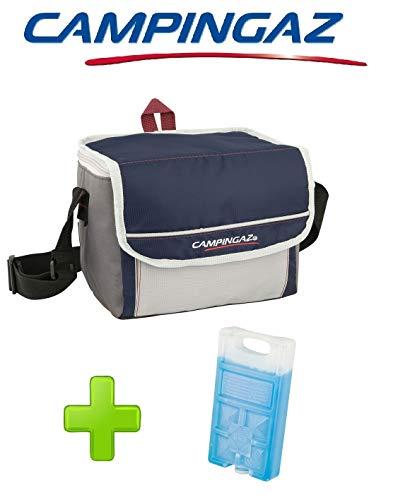 ALTIGASI Kühltasche FOLD\'N Cool CAMPINGAZ 10 Liter CAMPINGAZ mit verstellbarem Schultergurt und Fronttasche - Leistung bis zu 10 Stunden + 1 FREEZ Pack M10