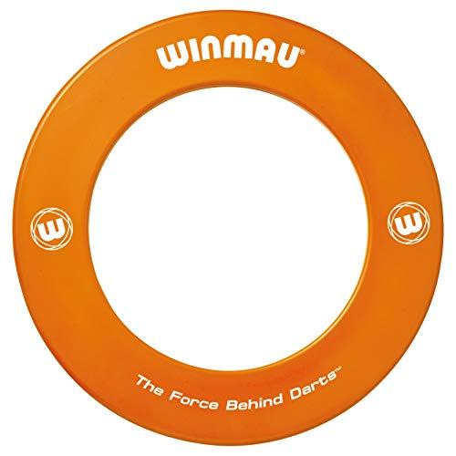 Winmau Dartboard Surround Orange Print