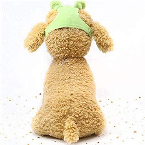 Ogquaton Premium Qualität Niedlichen Tier Stil Hund Hut Komfortable Atmungsaktive Hundekopfschutz Haustier Kostüm Dekoration S Größe Frosch Heimtierbedarf -
