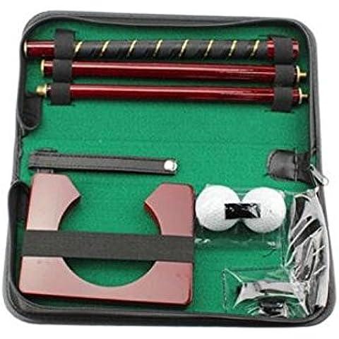 BW-Juego de golf para interior Creative Junta completa interior Eje de Putter Set de regalo-Juego de mini golf putting green. Práctica en casa, en la oficina o de Entretener sus invitados en una nueva