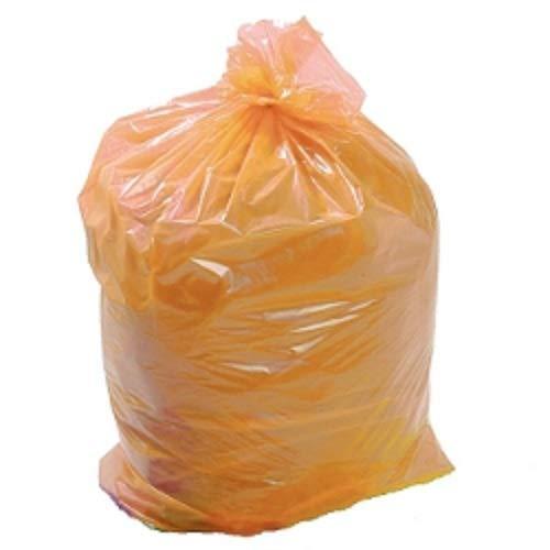 Uk Store - Bolsas de Basura para Reciclaje (50 Unidades, tamaño Grande, 45 x 74 x 99 cm), Color Naranja