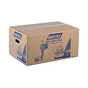 carton de d m nagement mottez carton 72 litres charge utile 30 kg cuisine maison. Black Bedroom Furniture Sets. Home Design Ideas