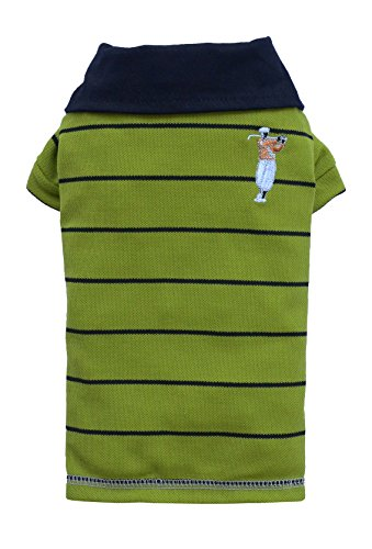 Doggy Dolly T125 Polo Shirt für Hunde, grün, Größe : XL -