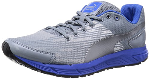 Puma Sequence - Zapatos para correr, unisex, color trade/silver/blue,