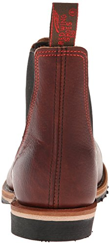 Red Wing 02917 Brown Leather Mens Boots - Rouge