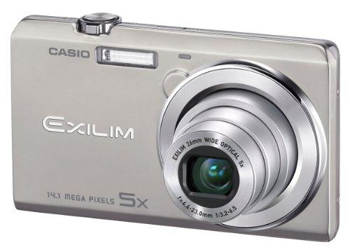 Casio Exilim EX-ZS10 Digitalkamera (14 Megapixel, 5-fach opt. Zoom, 6,9 cm (2,7 Zoll) Display, HD-Video) silber Casio Exilim