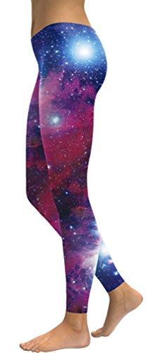 Belsen - Legging - Femme noir noir X-Large Red