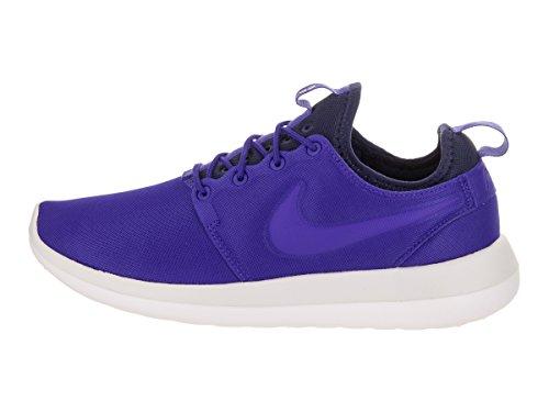 Nike W Roshe Two, Scarpe da Ginnastica Donna Blu (Paramount Blue/Paramount Blue/Sail)