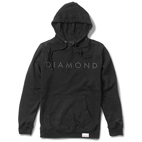 diamond-supply-co-mens-facet-tonal-ls-hoodie-black-m