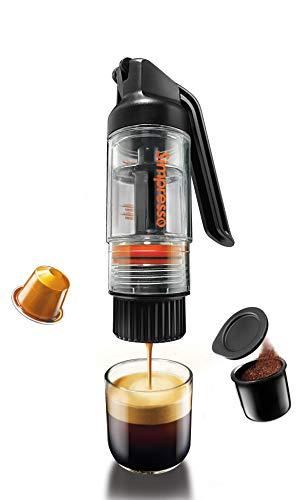 Simpresso portable espresso maker (pacchetto viaggio premium) - tutti gli accessori inclusi