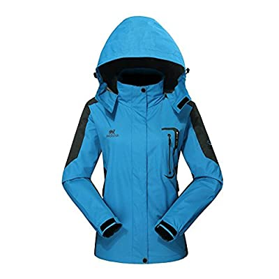 Waterproof Jacket Raincoat Women Sportswear-GIVBRO 2017 New Design Outdoor Hooded Softshell Camping Hiking Mountaineer Travel Jackets(smaller dimension) from GIVBRO
