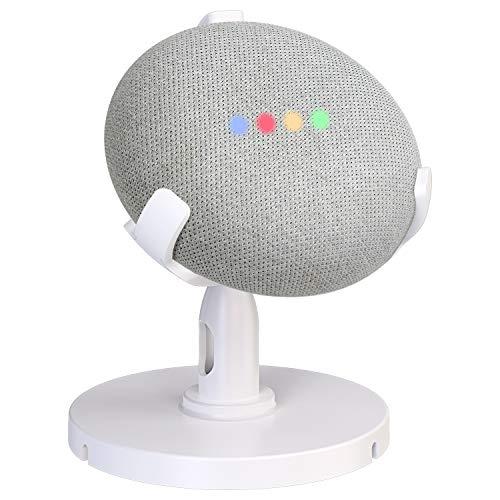 Cocoda Supporto da Tavolo per Google Home Mini, Regolabile a 360° Supporto per Montaggio Supporto Tavolo per Assistenti Vocali Domestici, Accessori Clever Migliora la Comunicazione con Tuo HomeMini