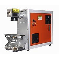 TEN-HIGH Máquina de marcado láser de fibra portátil Máquina de marcado de metal y