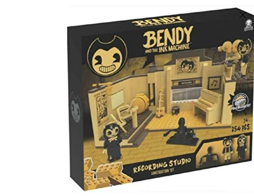 Basic Fun Bendy Recording Studio Scene Set