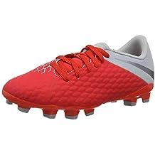 Nike Jr Hypervenom 3 Academy FG, Zapatillas de fútbol Sala Unisex Niños