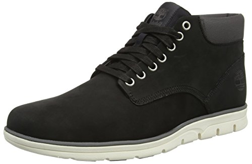 Timberland Men's Bradstreet Leather Ankle Boots, Black (Black), 8 UK 42 EU