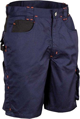 COFRA Arbeitsshort Workwear Tile in Mehreren Farben (50, Navy-schwarz)